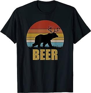 Deer Bear Beer Vintage T-shirt