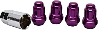 White Knight 40700SPPT Purple Wheel Lock, 4 Pack