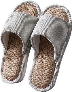 BaiMoJia Pantofole da Donna Scarpe da Casa Cotone Morbide Comoda Ciabatte Antiscivolo Punta Aperta