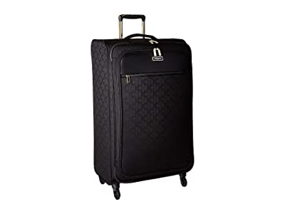Kenneth Cole Reaction 28 KC Street Polyester Upright (Black) Carry on Luggage