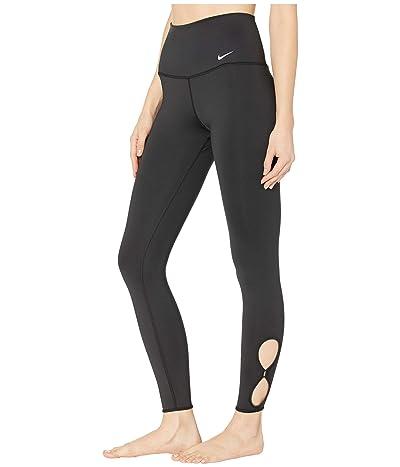 Nike Yoga 7/8 Tights Holiday (Black/White) Women