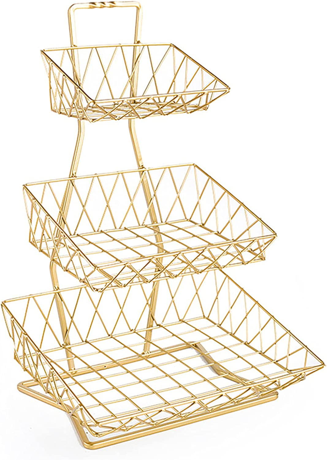 JZDHAOANHE Multi-Layered Fruit Basket for Counterto Limited free time sale Stand