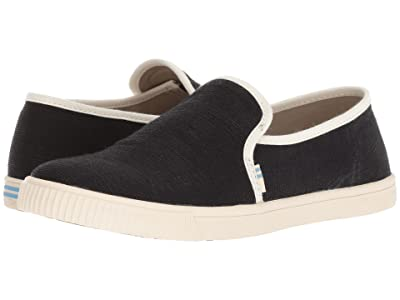 TOMS Clemente (Black Heritage Canvas) Women
