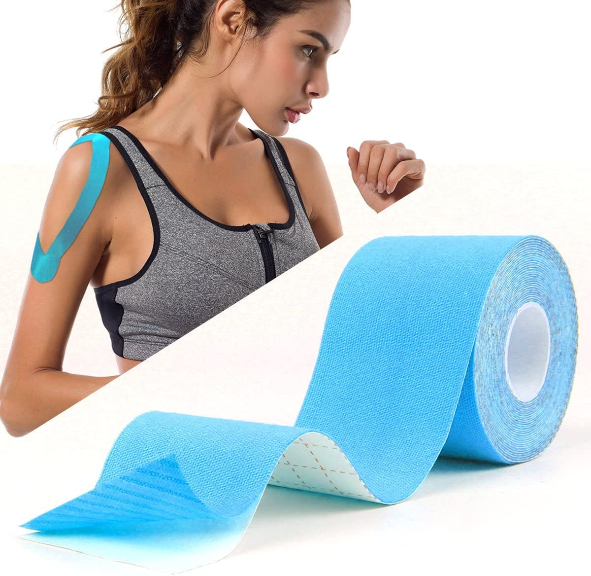 Atemto Kinesiology Tape Inventory cleanup selling sale Athletic Sports 5% OFF 100% Elastic