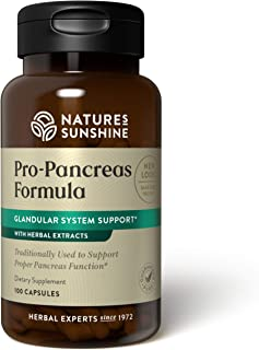 Nature's Sunshine Pro-Pancreas 100 Capsules