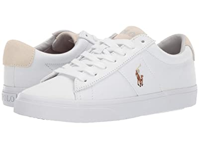 Polo Ralph Lauren Sayer (White Canvas) Men