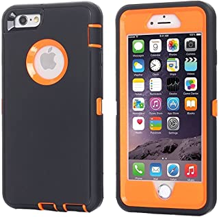 iPhone 6 Case, iPhone 6S Case [Heavy Duty] AICase Built-in Screen Protector Tough 3 in 1 Rugged Shockproof Cover for Apple...