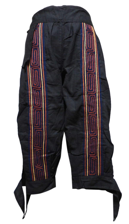 アジアン衣料 コットン?刺繍パンツ SHU-5
