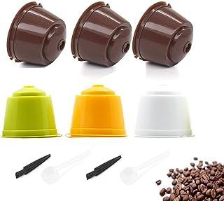 TANGGER Cápsulas Filtros de Café Recargable Reutilizable