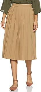 Marks & Spencer Polyester Marks and Spencer Women's Regular Fit Skirts