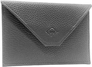 Charmoni – Porta papeles para coche – Forma sobre – Funda para tarjeta de conducción – Piel – 15 x 11 cm – Talla única, gr...