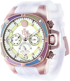Technosport (TSW) TS-100-LIFES38 Women's Watch White Strap Swiss Multifunction Movement