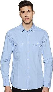 Amazon Brand - Symbol Men's Casual Slim Fit Shirt