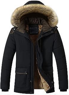 fur lined coats mens