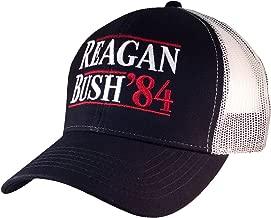 Trenz Shirt Company Reagan Bush 84 Campaign Adult Trucker Hat
