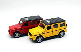 Mercedes Benz-AMC METAL CARS SUV WITH WHITE AND BLACK (YELLOW)