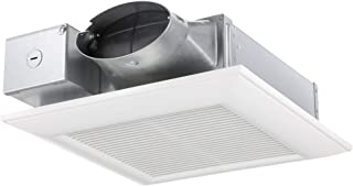 Panasonic FV-0510VS1 WhisperValue DC Ventilation Fan with Pick-A-Flow Speed Selector, Low Profile, Extremely Quiet, Long Lasting, Easy to Install, Code Compliant, Energy Star Certified, White