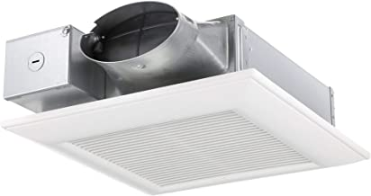 Panasonic FV-0510VS1 WhisperValue DC Ventilation Fan with Pick-A-Flow Speed Selector, Low Profile, Extremely Quiet, Long L...