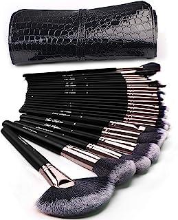 Makeup Brushes 24pcs Makeup Brushes Set Kabuki Foundation Blending Brush Face Powder Blush Concealers Eye Shadows Make Up Brushes Kit with Bag