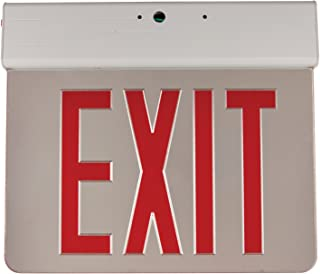 Sunlite EXIT/EDGE/SU/2RF/MI/WH/EM/NYC LED Double Face New York Approved Aluminum Exit Sign