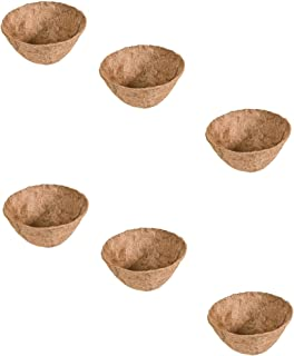Panacea Products 88592 14-Inch Round Coco Fiber Liner, Brown, Sold as 6 Pack