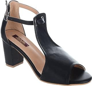Shuz Touch Black Sandal