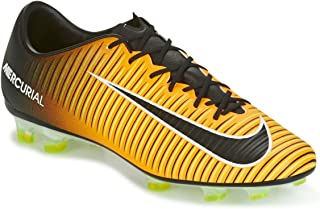 Mercurial Veloce III FG Firmground Soccer Cleats- Laser orange Size: 6.5