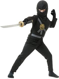 black ninja avenger costume