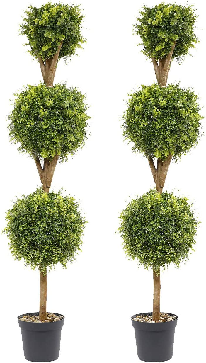 Artificial Topiary Limited time cheap sale Boxwood Ball Max 70% OFF Trees T 5 inch ft 60