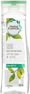Herbal Essences Daily Detox Shine Shampoo, White Tea and Mint, 300ml