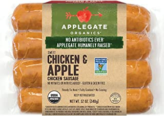 applegate organics chicken and apple sausage