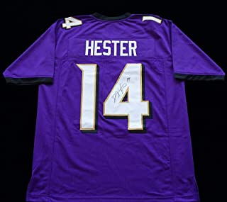 Devin Hester Autographed Jersey - COA - JSA Certified - Autographed NFL Jerseys