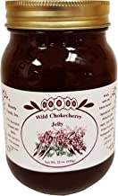 Montana Chokecherry Jelly Dessert Breakfast - Essentials 22 oz Real Fruit Grown & Hand Picked in the Wild from Bounty Foods - Gluten-Free Non-GMO for Toppings - Fillings - Craft Bread (Chk Jly 22oz)