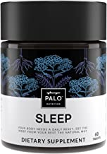 Sleep | Natural Sleep Aid (60 ea)-Non-Habit Sleep Supplement. All Natural Formula with Valerian Root, Passion Flower, Hops...