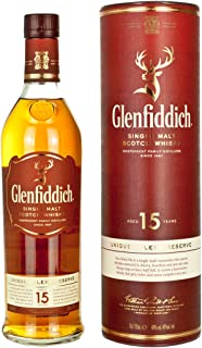 Glenfiddich 15 Jahre Unique Solera Reserve 0,7 l inkl. Geschenkdose - Single Malt Scotch Whisky