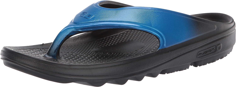 Spenco Men's Flip-Flop, Blue, 10
