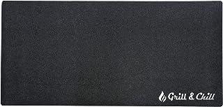 acerto 40531 Estera de protección del Suelo Grill+Chill 90x180 cm - Antibacteriana - Impermeable - Antideslizante | Subsue...