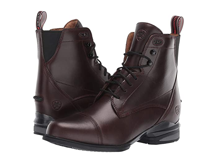 Ariat  Performer Nitro Paddock (Waxed Chocolate) Womens Lace-up Boots