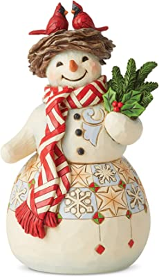 Enesco Jim Shore Heartwood Creek Three Snowmen Together Figurine