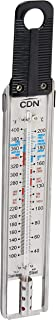 CDN TCG400-Candy & Deep Fry Ruler Thermometer, 1, Black