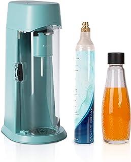 LEVIVO Machine à Soda JUS, gazéifie les jus, les boissons gazeuses et toutes les boissons de votre choix, avec Cylindre de...