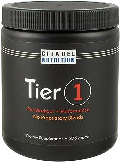 Tier 1 Preworkout / Performance Supplement (376g)