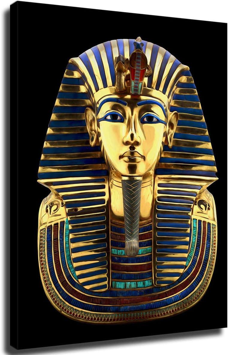 FINDEMO Egyptian Pharaoh Popular product favorite King TUT Gold Tutankhamu Mask Headdress