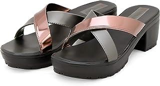 Divain Womens Wedge Fashion Sandal (Art_B108)