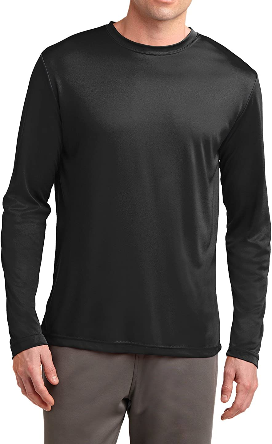 Mafoose Men's Lightweight Tall Long Sleeve PosiCharge Competitor Tee