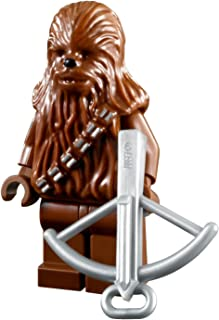 LEGO Star Wars Minifigure Wookiee - Chewbacca Chewy with Crossbow Weapon
