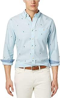 Mens Critter Button Up Shirt