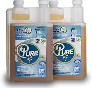 PURE Natural Laundry Detergent 64 Loads (2 Pack)