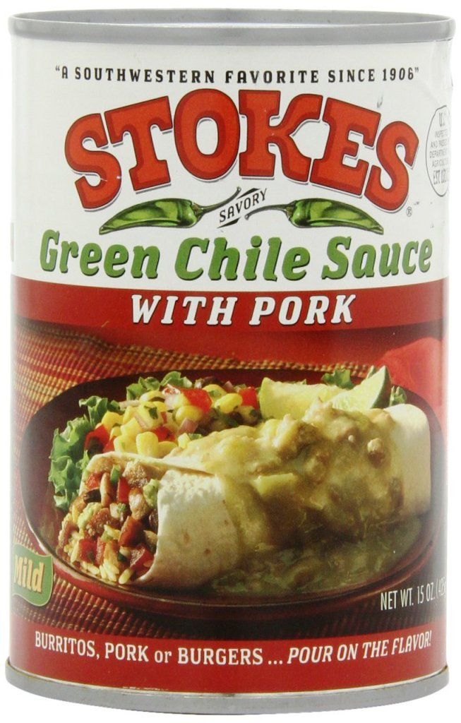 Stokes Green Chile Sauce 15 Pork with Ounce Free Shipping New Max 79% OFF