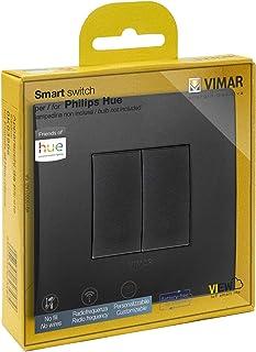 Vimar 0K03906.07 Kit draadloze schakelaar in radio frequentie Philips Friends of Hue Serie Arké Classic Geen batterijen nodig
